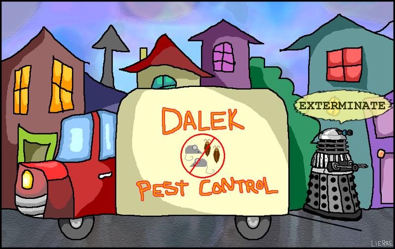 Dalek-pest-control